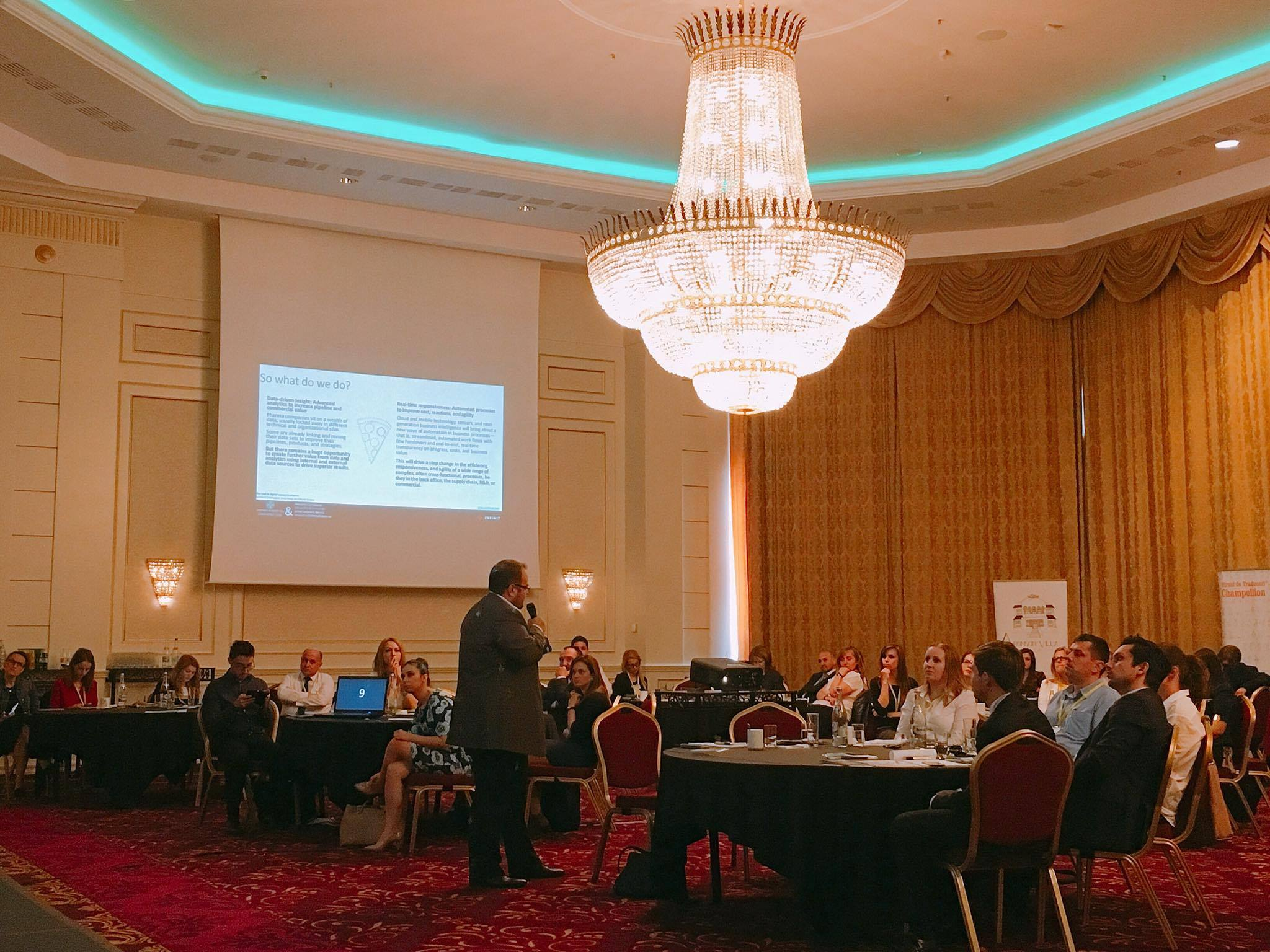Pharma Marketing Conference 2016 -Alex Cernatescu Infinit Solutions Agency