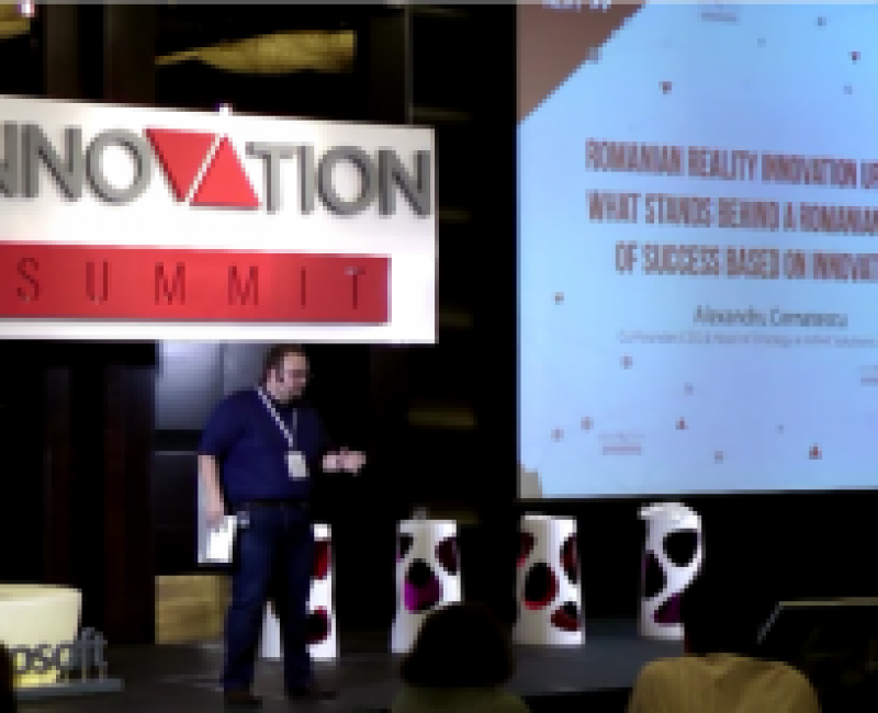 Innovation Summit – Closing Keynote – Innovative Entrepreneurship